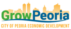 Grow Peoria – Peoria Illinois Economic Development Logo